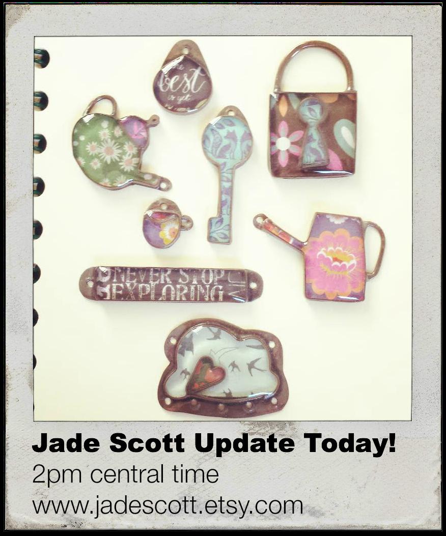 Jade Scott Pendant Update today!