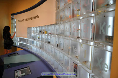 The periodic table of elements at Houston Museum of Natural Sciences, Texas