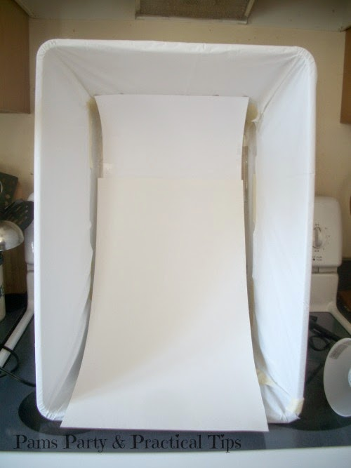 pictures with a light box, how to use a light box
