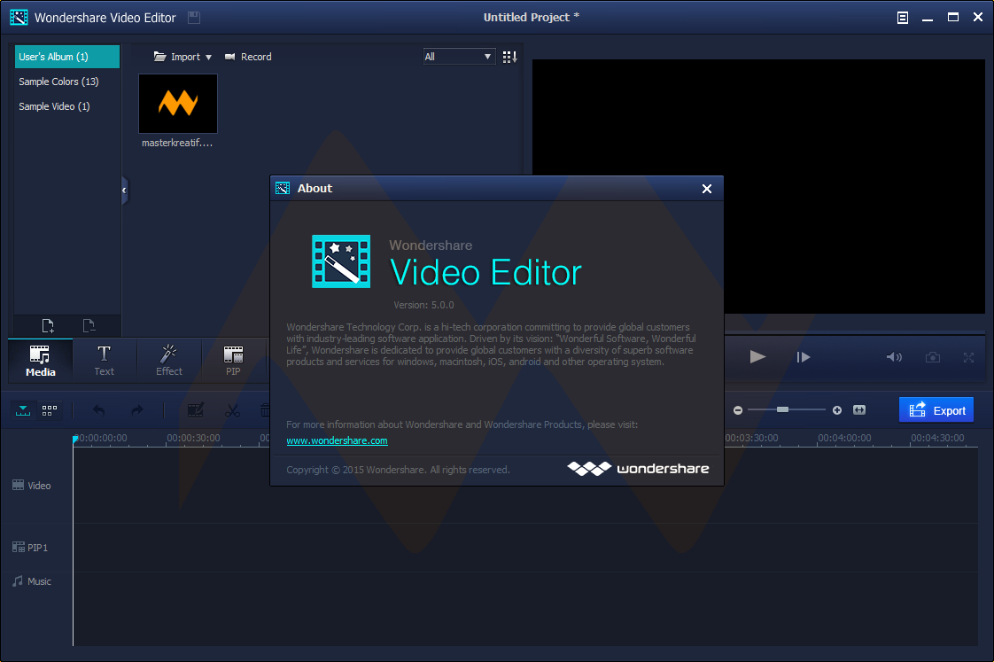 wondershare video editor full crack
