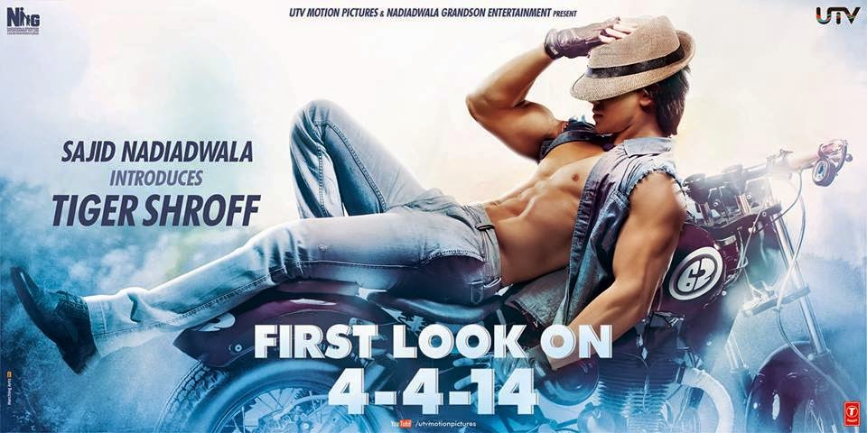 Here is the first look of Heropanti starring Tiger Shroff