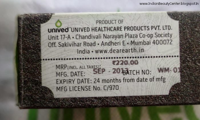 Dear Earth Organic, Hand made soap Price in India
