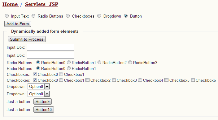 Dynamically Add Form Elements Using Jquery Such As Input Textbox