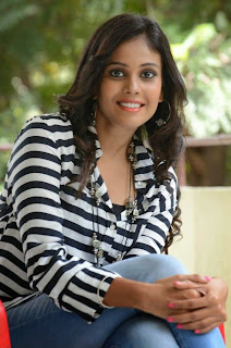 Actress Chandini Latest Pictures in Jeans at Kiraak Release Date Announcement Press Meet  0049.jpg