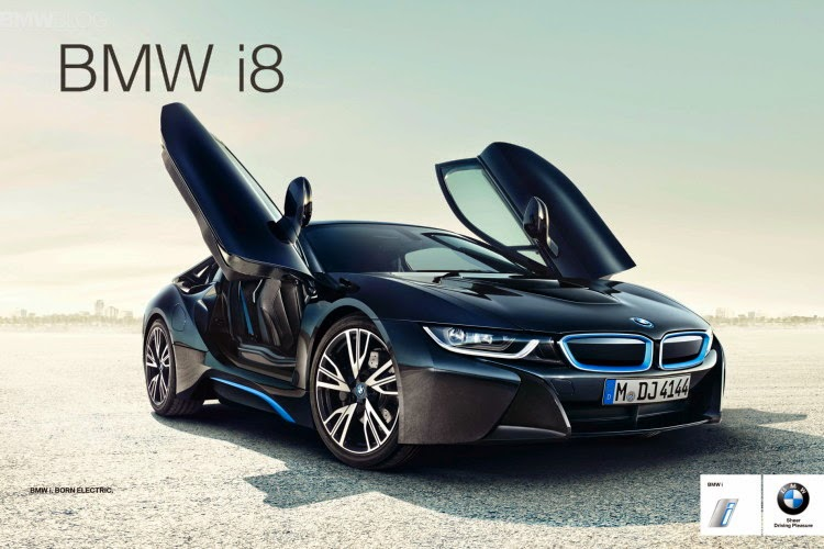 цена на автомобиль bmw i8