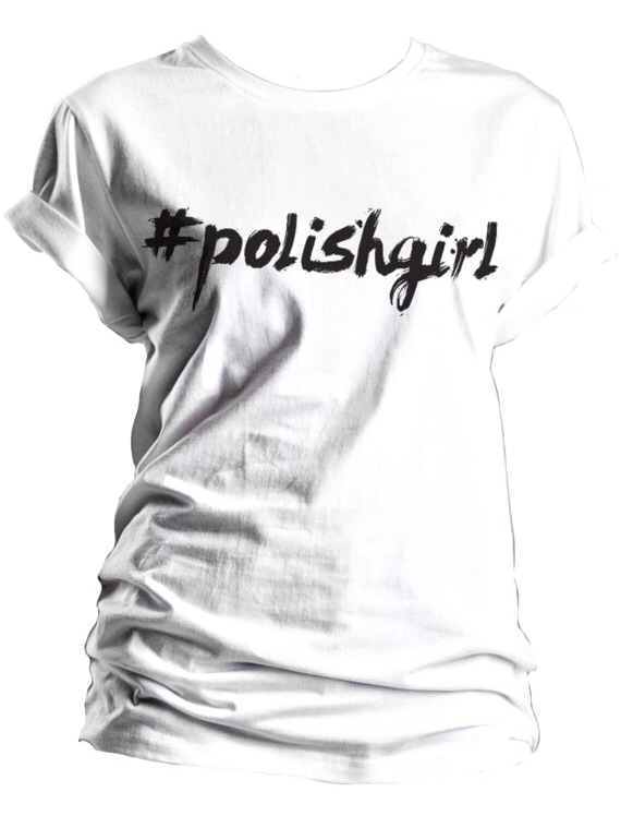 yeah bunny etsy shop, apparel, tee, tshirt, t shirt, polish girl, #polishgirl graphic tee