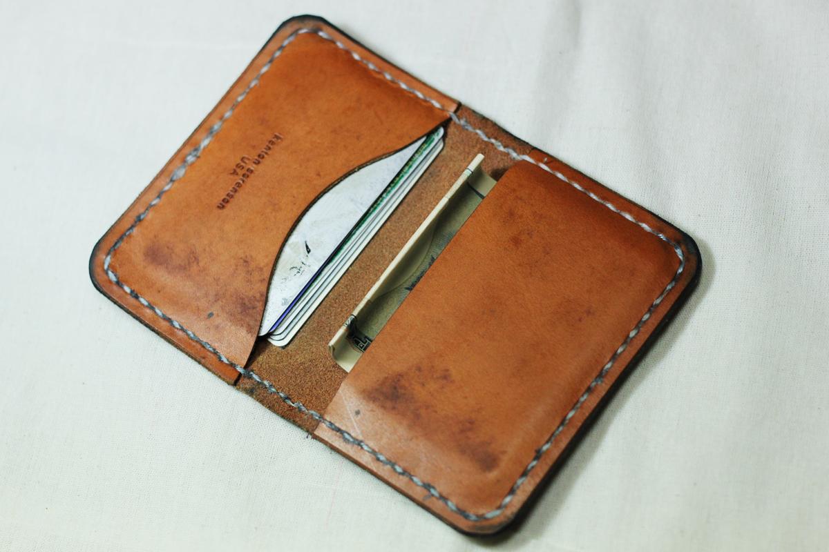 kenton sorenson natural leather wallet