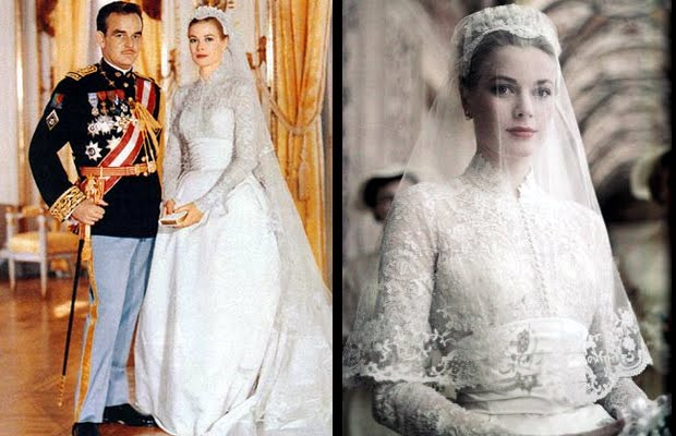 kate middleton and grace kelly wedding dress. images Kate-Middleton-Wedding-