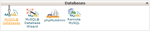 Mysql database and cpanel at phponwebsites