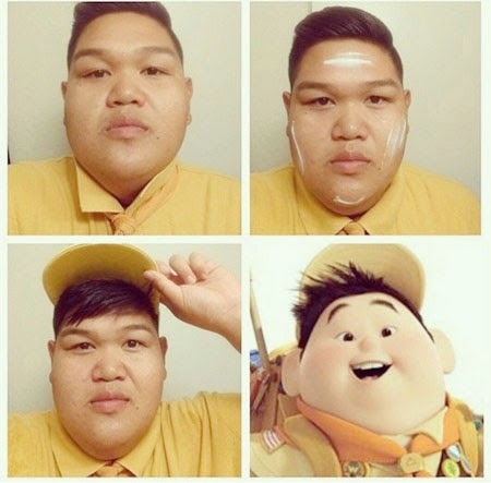 #MakeUpTransformation  up gordinho