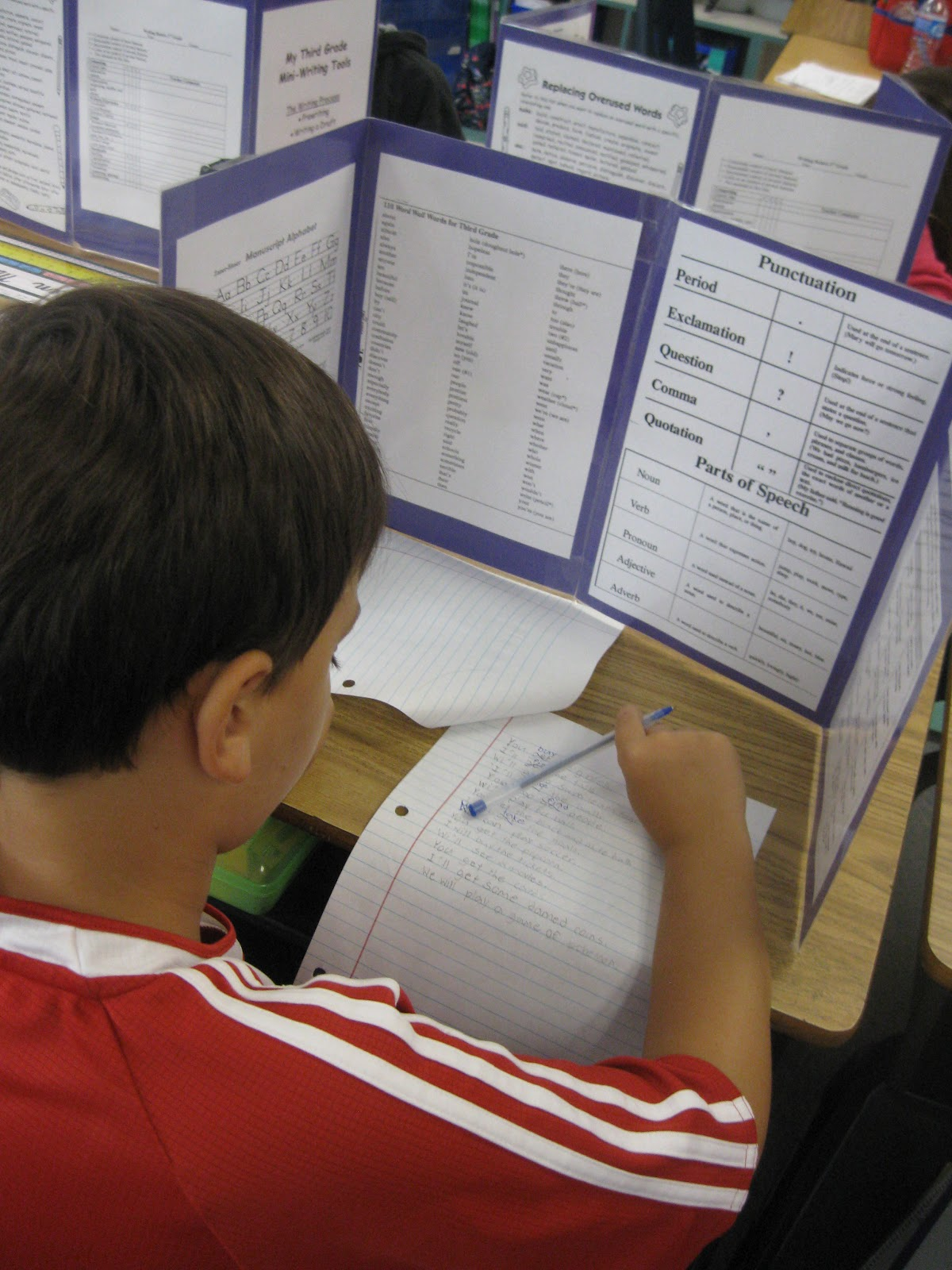 Third Grade Thinkers Writing Mini Lessons & Creating a Writer s