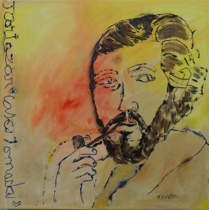 Dibujar al novelista argentino en su centenario cumplenacimiento
