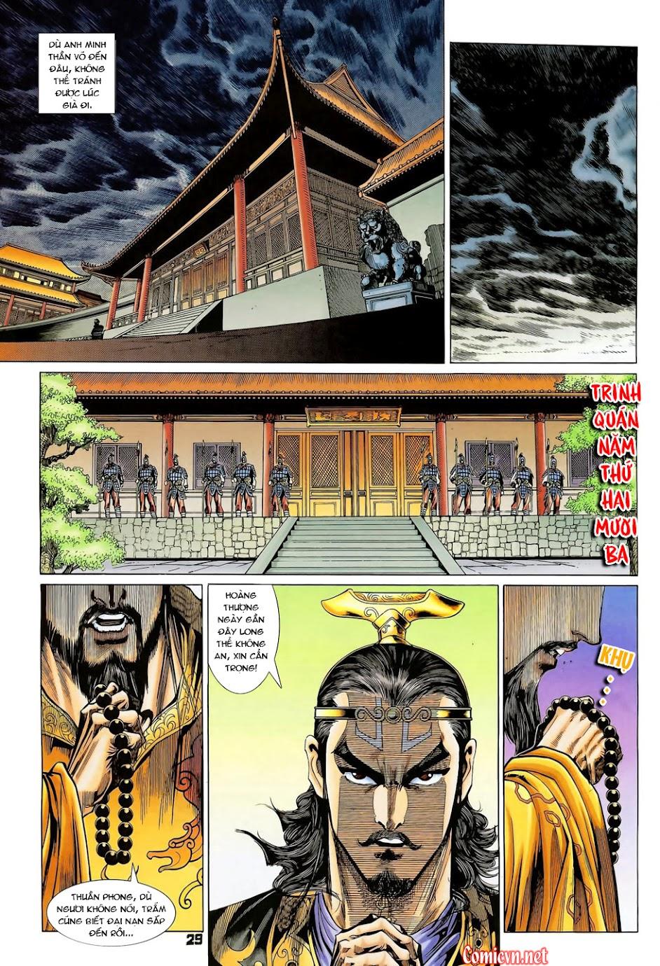 Đại Đường Uy Long Chap 102 - Trang 29