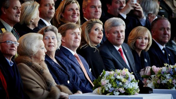 King Willem Alexander, Princess Beatrix, Queen Maxima of The Netherlands,