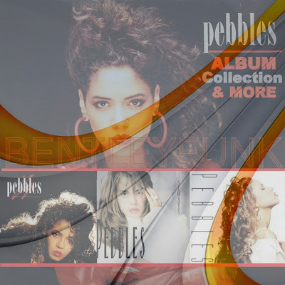 PEBBLES ALBUM COLLECTION 1987 - 1995 / 2012 EXPANDED / 5 CD