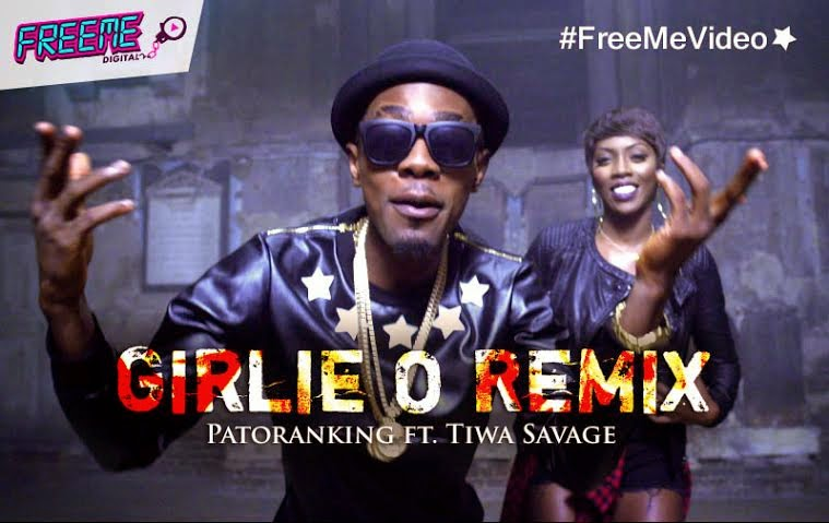 VIDEO: Patoranking – Girlie 'O' (Remix) ft. Tiwa Savage