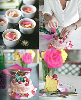 Mother's Day Rose Desserts