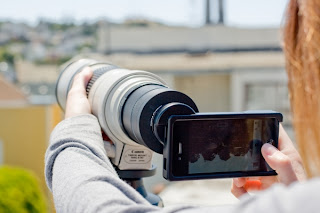 SLR Mount for iPhone