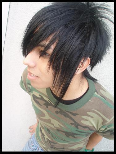 emo hairstyles men notonlybeauty