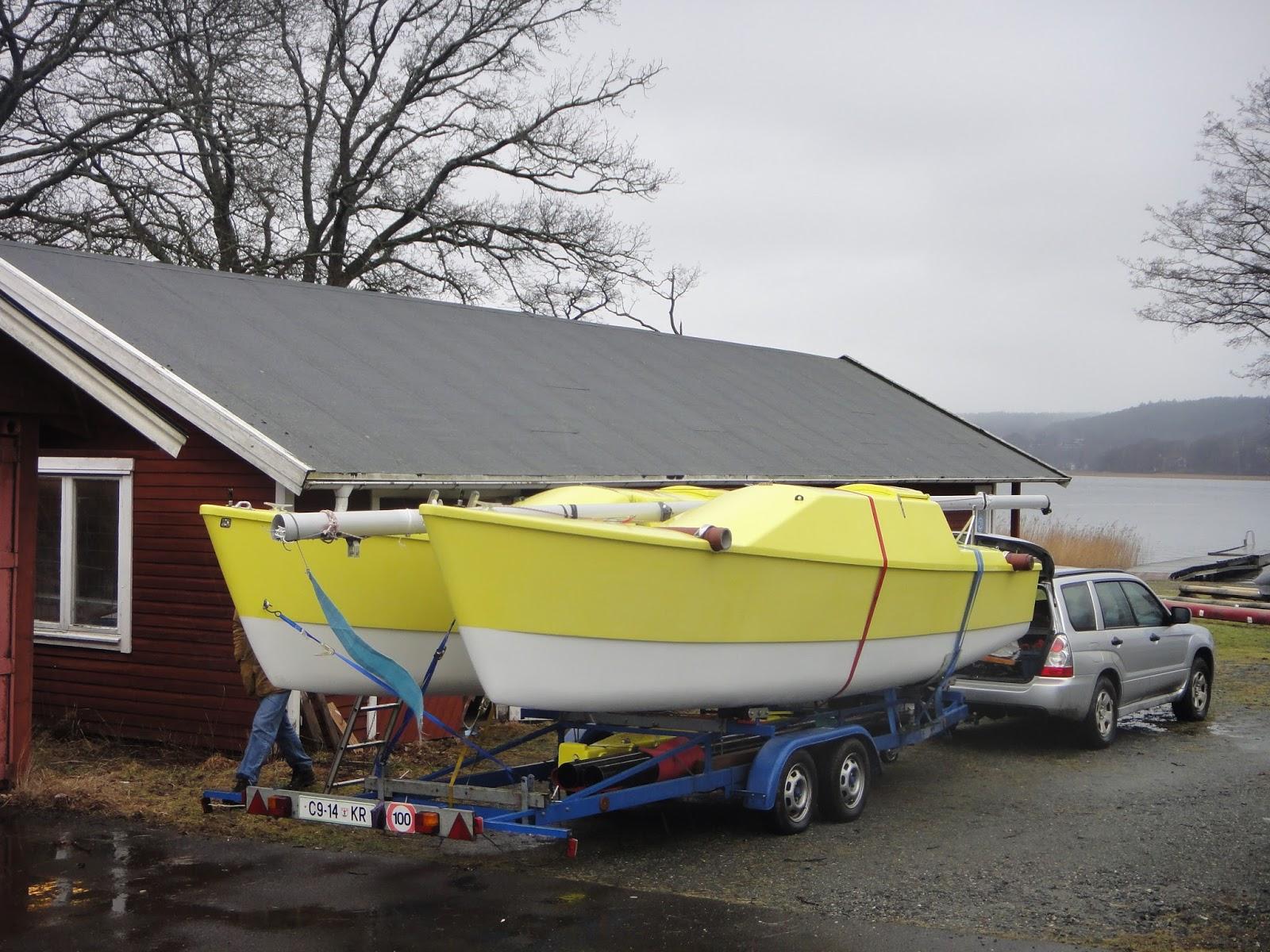 Woods Striderman catamaran