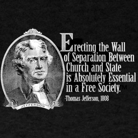 lack of separation of church and Anytime religion is mentioned within the confines of government today people cry , separation of church and state many people think this statement appears.