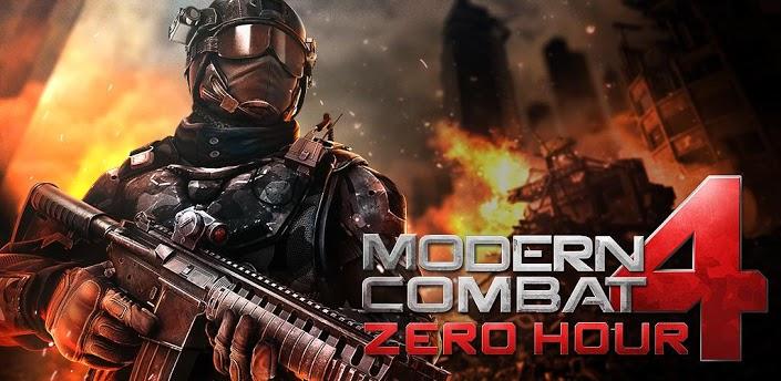 [Apk+data] Modern Combat 4: Zero Hour v1.0.2