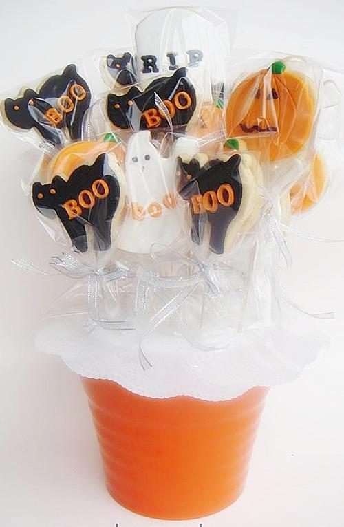 Cadılar Bayramı -Halloween Kurabiyeleri
