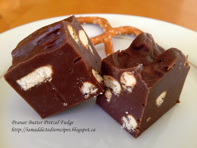 Peanut Butter Pretzel Fudge | Addicted to Recipes