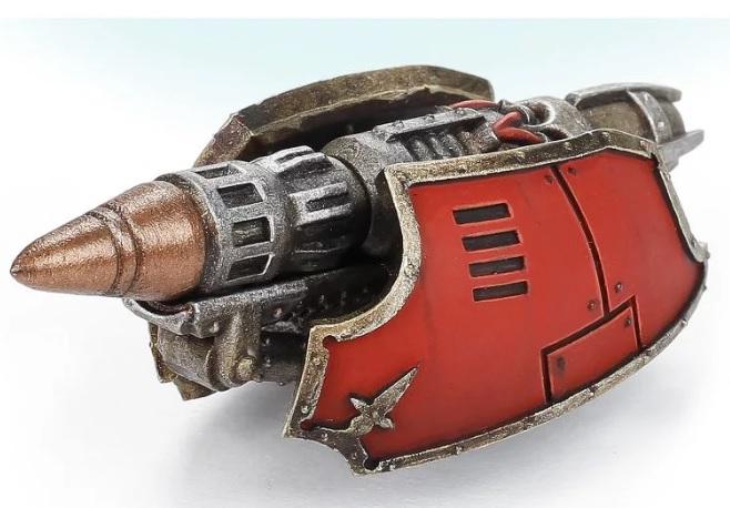 Adeptus Titanicus Reaver Titan Carapace Warp Missile Rack Forge World #12105
