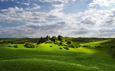 ¿Te gustaría correr por estos verdes prados? - Paisajes