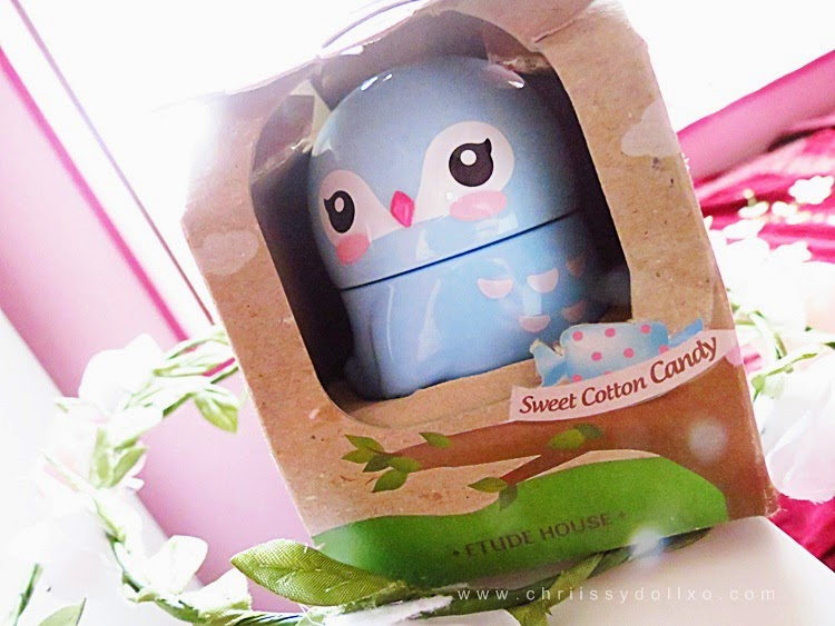 Etude House I Can Fly Hand Cream Bluebird Sweet Cotton Candy Flavor : Review and Photos