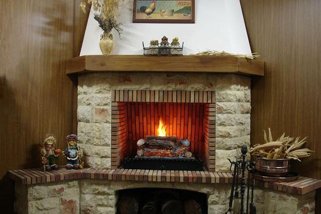 Fotos de chimeneas chimenea a gas natural - Fotos de chimenea ...