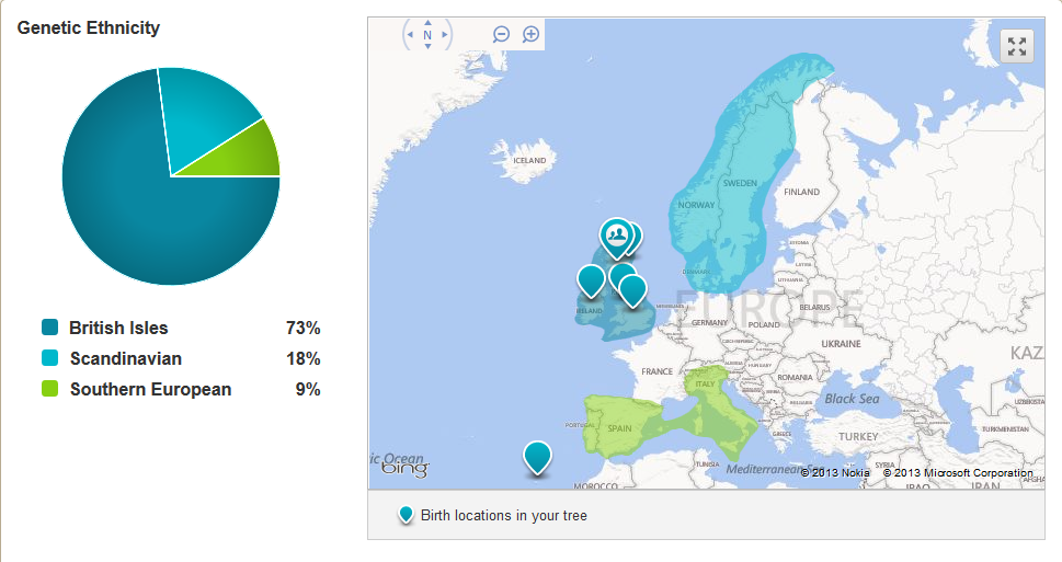 amberu0027s genealogy and family history blog my ancestry dna journey part iii the results