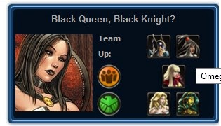Mission 1 - Black Queen, Black Knight?