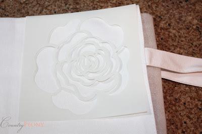 Flower Stencil forTote