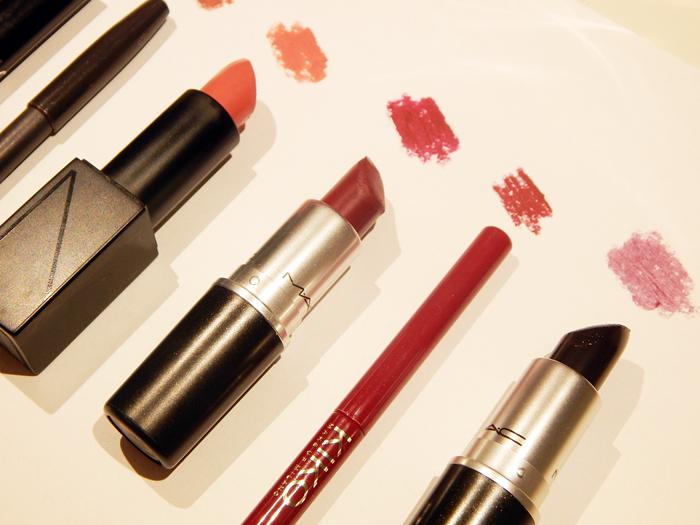 2015 Makeup Favourites lipsticks MAC Charlotte Tilbury KIKO NARS