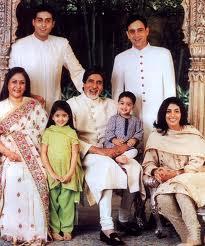 Nikhil Nanda son of Ritu nanada.,Nikhil Nanda, is married to Shweta Bachchan and Shweta Bachchan is daughter of Amitabh Bachcha