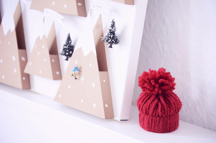 Diy: mountain landscape advent calendar rotkehlchen bloglovin