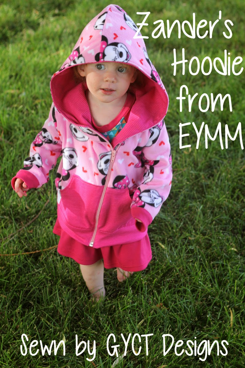 Boy Bundle is for Girls:  Zander's Hoodie