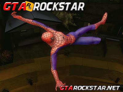 GTA SA - Mod Spider Man (Homem Aranha) BETA