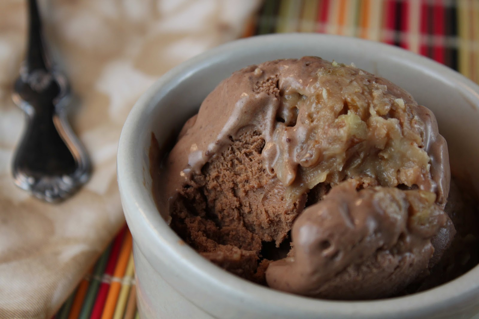 Fat And Happy Blog German Chocolate Ice Cream With
