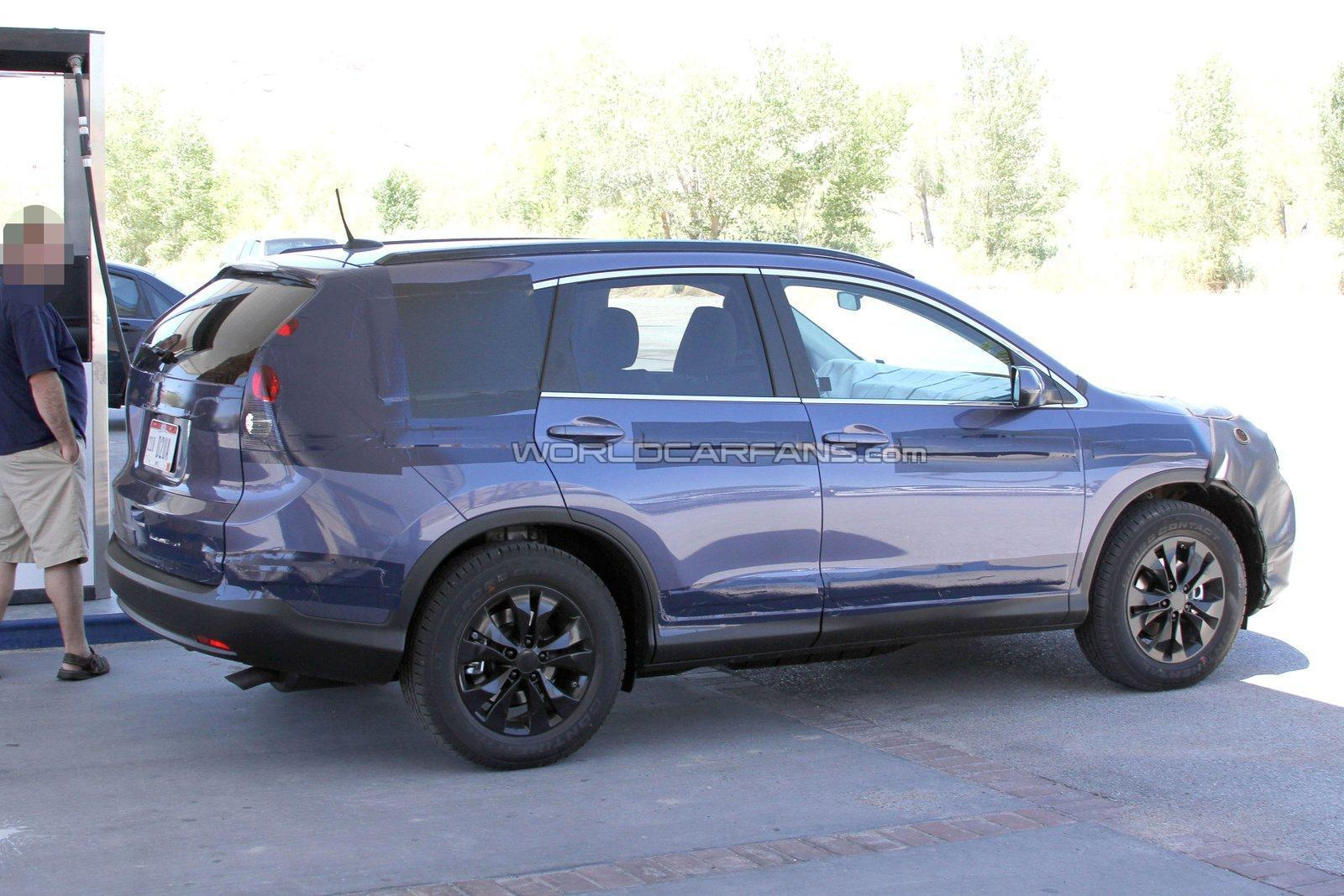 2013 Honda CR-V spied in the