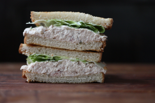 E a t back to school throwback lunches tuna fish for Tuna fish sandwich