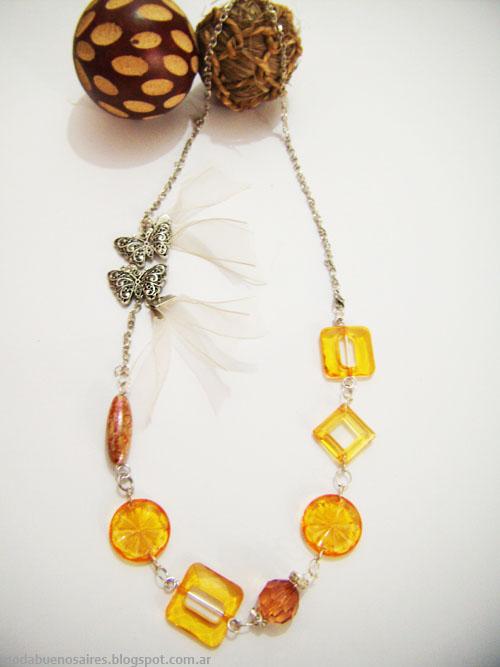 Catalina Pagani accesorios collares invierno 2013