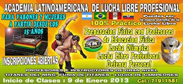 ACADEMIA LATINOAMERICANA DE LUCHA LIBRE PROFESIONAL
