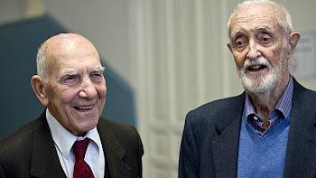 Stéphane Hessel y José Luis Sampedro