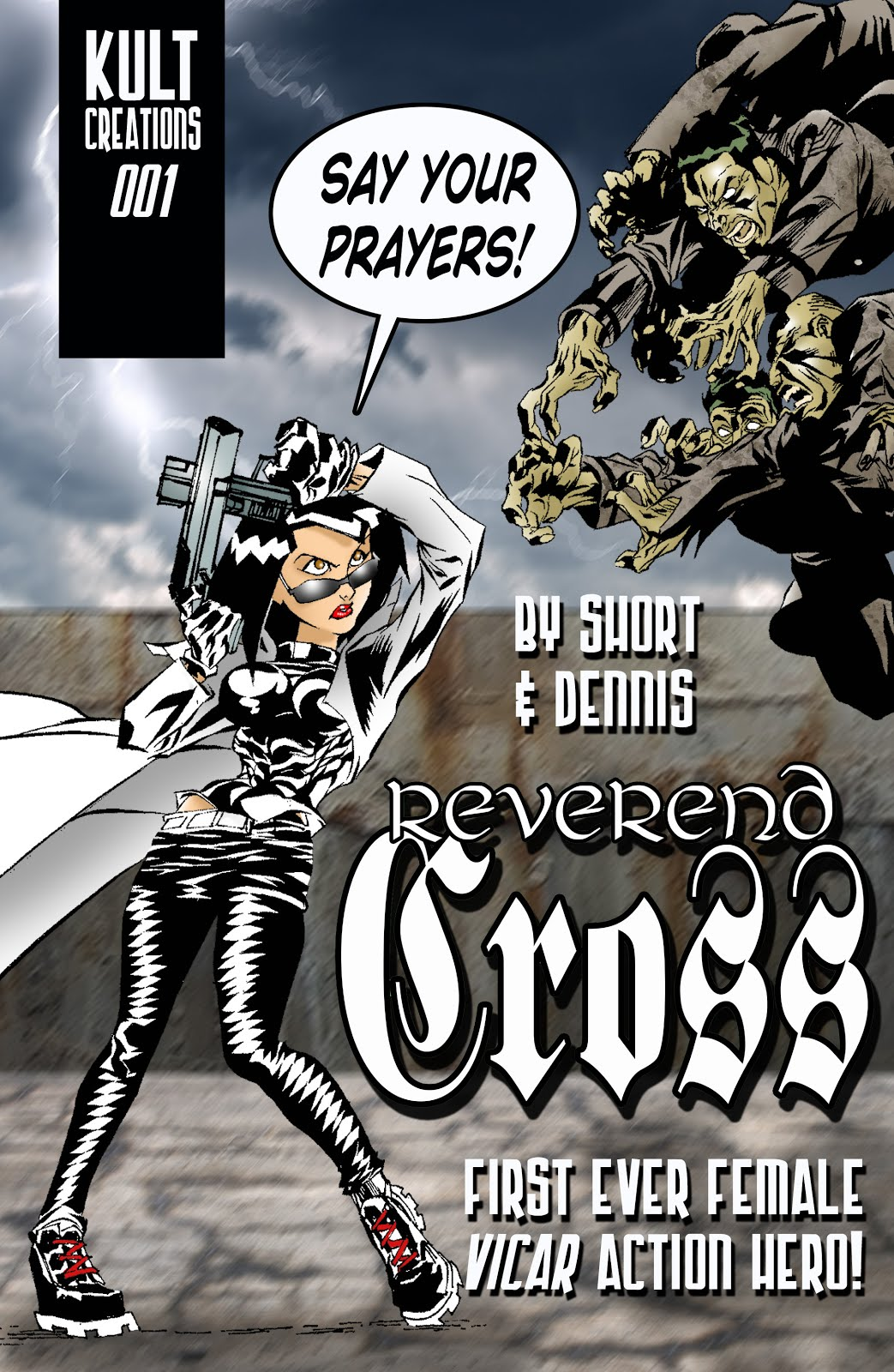 Buy Reverend Cross issue 001 BELOW!