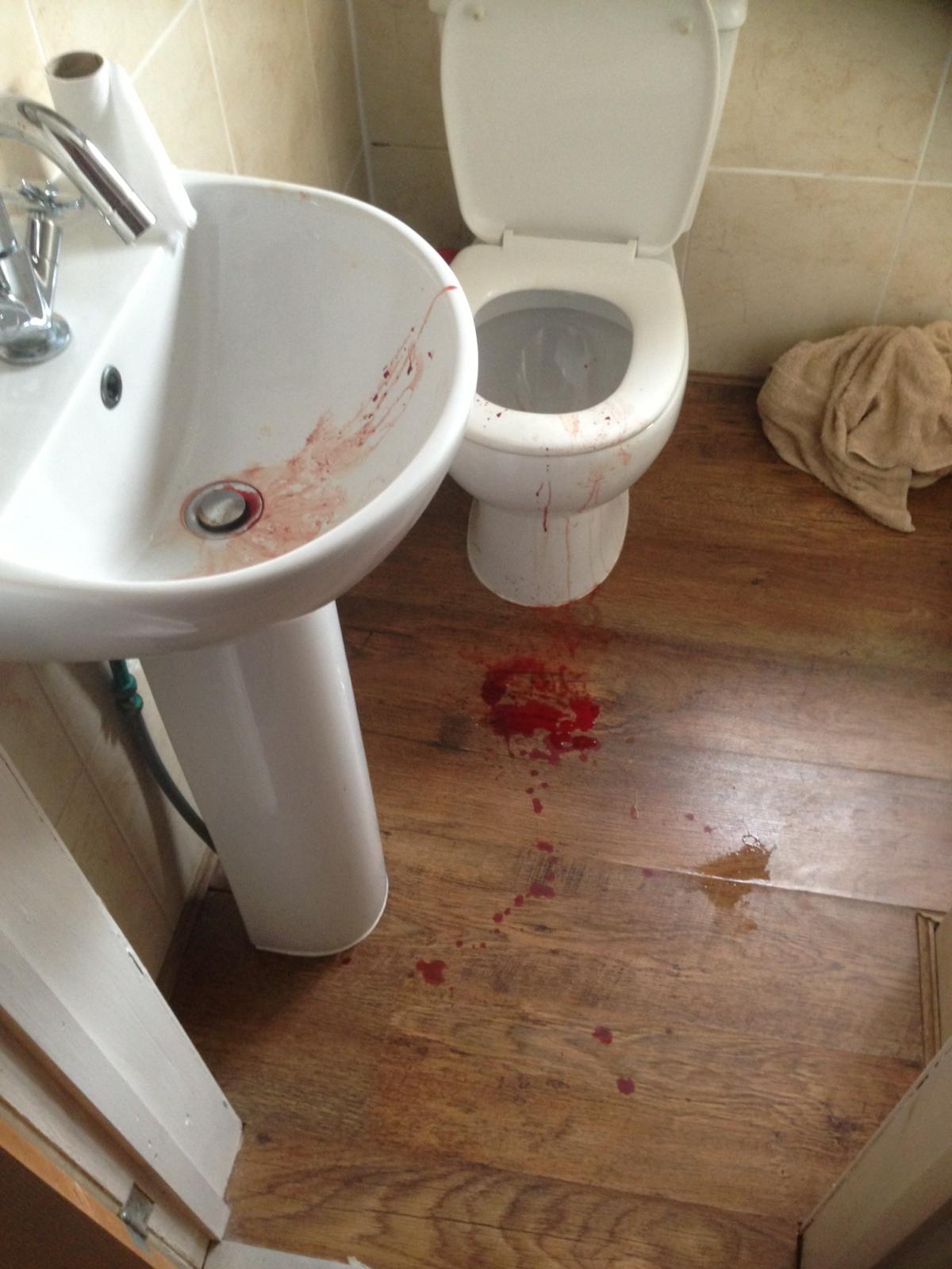Leak under bathroom sink