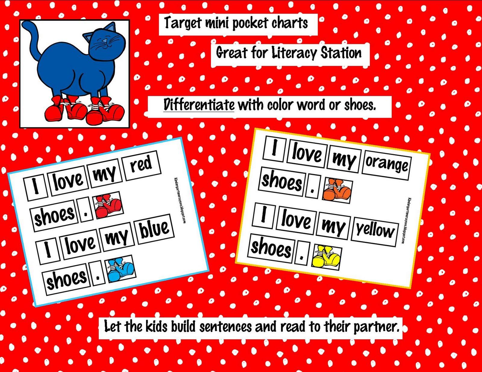 Kindergarten Calendar Pocket Chart : Kindergarten crayons pocket chart pete