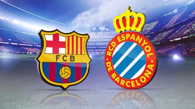 برشلونة واسبانيول اليوم بث مباشر